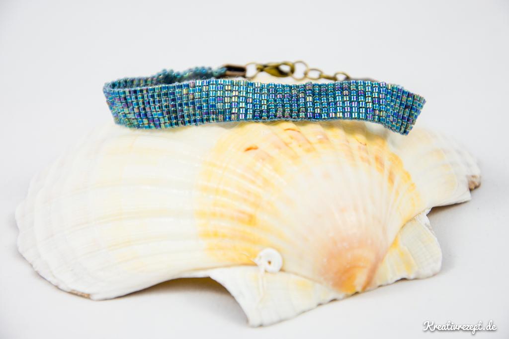 gewebtes Perlenarmband