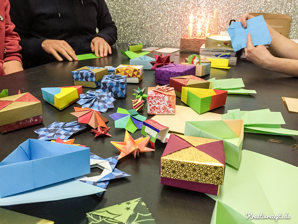 Origami-Workshop im Studio BLINKBLINK