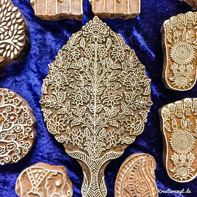 Wunderschöne indische Stempel